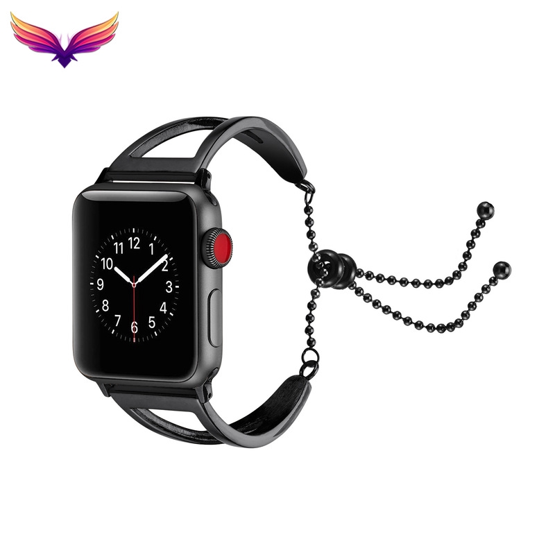 สายนาฬิกาข้อมือสแตนเลส 44 มม. สําหรับ Applewatch