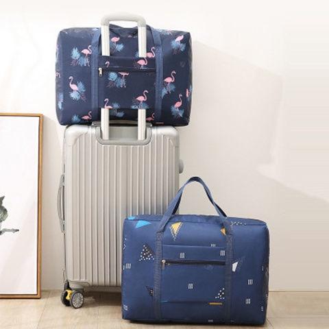 ▩☍♝กระเป๋าเดินทาง กระเป๋าเดินทาง กระเป๋าล้อลาก กระเป๋าเดินทาง กระเป๋าเดินทาง ความจุขนาดใหญ่ กระเป๋าสะพายข้าง แบบพับได้ ก