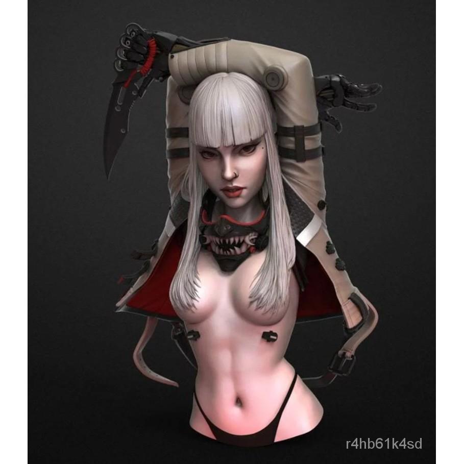 Resin Figure Kit 1/10 Girl Bust Unainted Garage Kit#¥%¥# OnNH