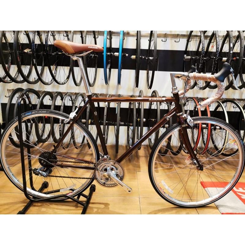 (ลดล้างสต๊อก) จักรยานทัวริ่ง ARAYA DIAGONALE 700c size 54 cm สีน้ำตาล