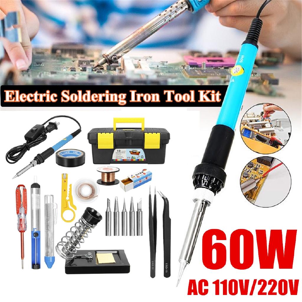 Soldering Iron Stand Electric Soldering Iron Kit Solder Gun Welding Iron Tool