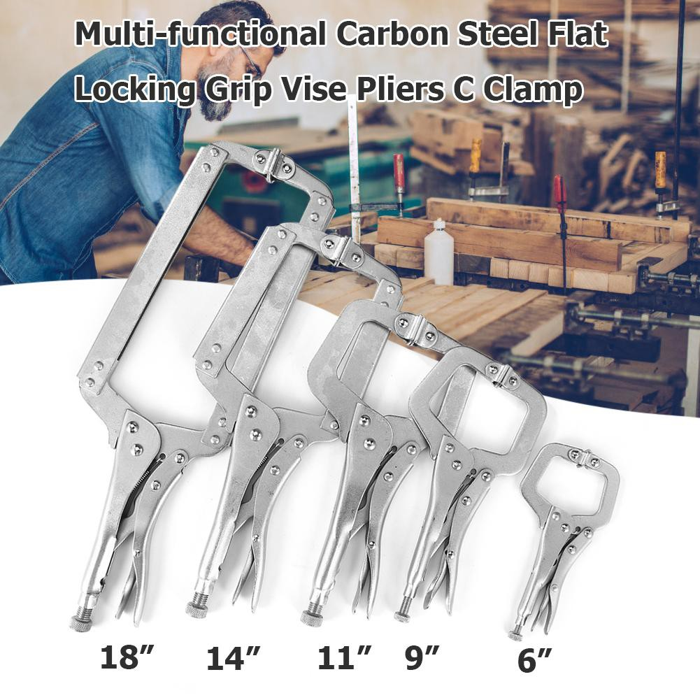Vise Grip Locking Welding Quick Pliers Carbon Steel Hand Clamping Tools