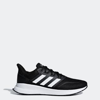 adidas RUNNING Runfalcon Shoes ผู้ชาย Black F36199