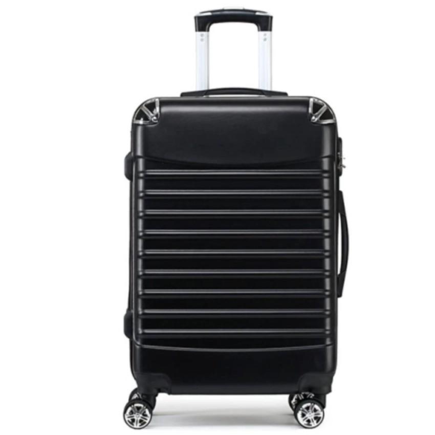 กระเป๋าเดินทางล้อลาก ขนาด 24 นิ้วสีดำ