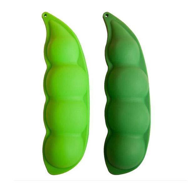 Qqmall กระเป๋าดินสอ ชนิดซิลิโคน ลายผักน่ารัก ความจุขนาดใหญ่
