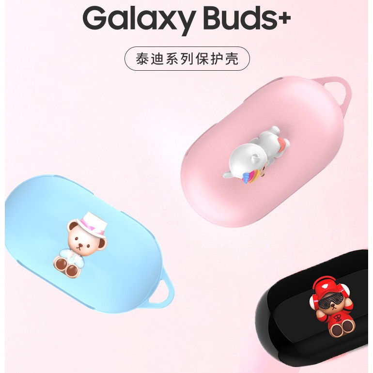 Original Teddy Bear คอลเลคชั่นซีรีส์ Pc ปกคลุมสําหรับ Samsung Galaxy Buds +