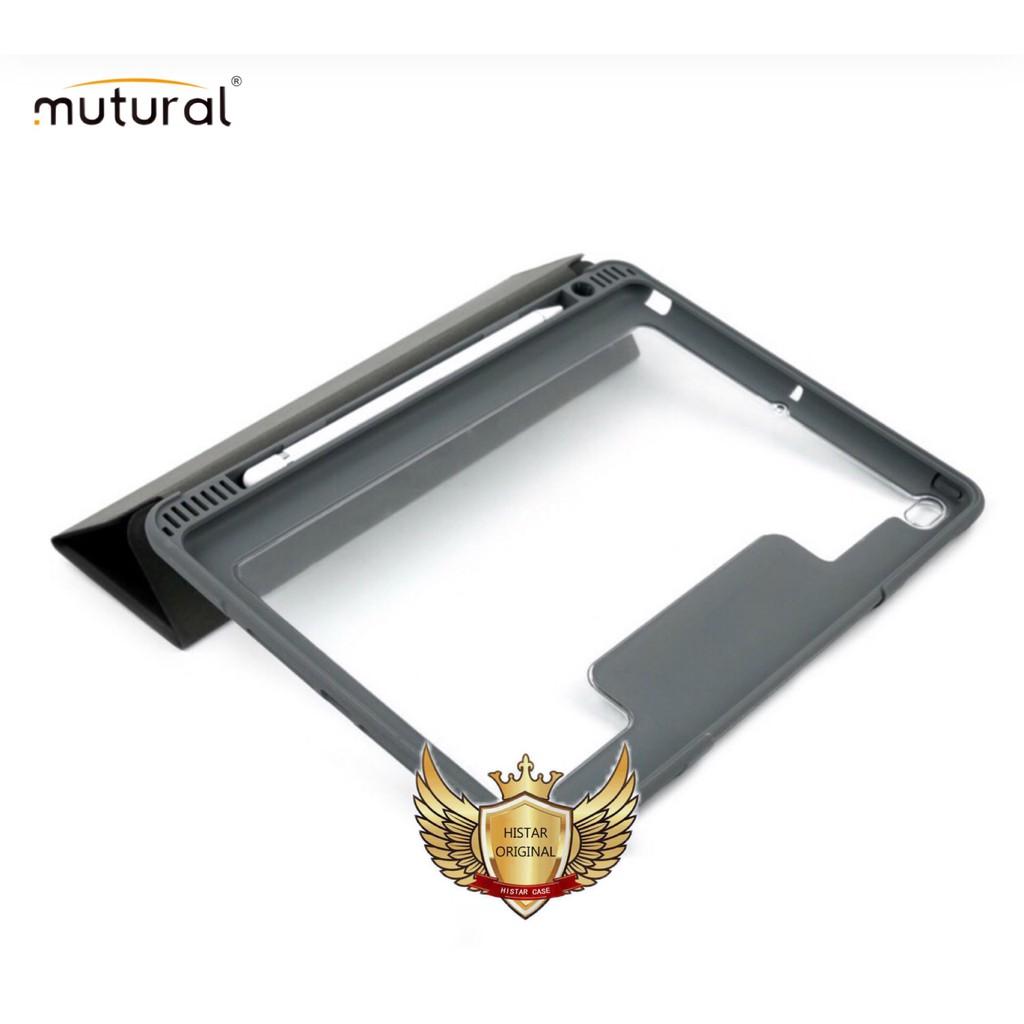 Mutural เคส iPad 10.2/Pro11/Pro12.9 เคสกันกระแทก เคสไอแพตแบบมีฝาปิด มีช่องปากกา iPad Case With Apple Pencil DSUc1 XCJh