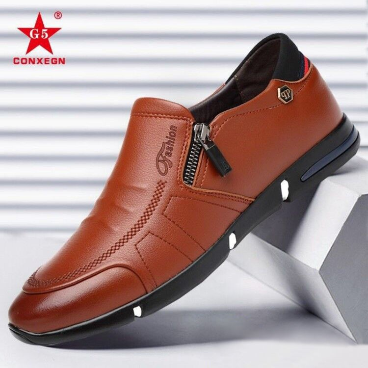 ✖รองเท้า หนังแท้ รองเท้าคัชชูหนังขัดมันชาย รองเท้าหนังธุรกิจสำหรับผู้ชาย  รองเท้าผูกเชือก