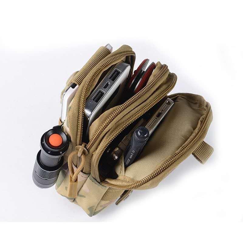 Thai กระเป๋าเดินทางสำหรับสุภาพบุรุษของผู้ชายกระเป๋าสำหรับเดินป่าแพ็คกระเป๋าทหารกับเข็มขัดรัด กระเป๋ายุทธวิธี กระเป๋าเงิน