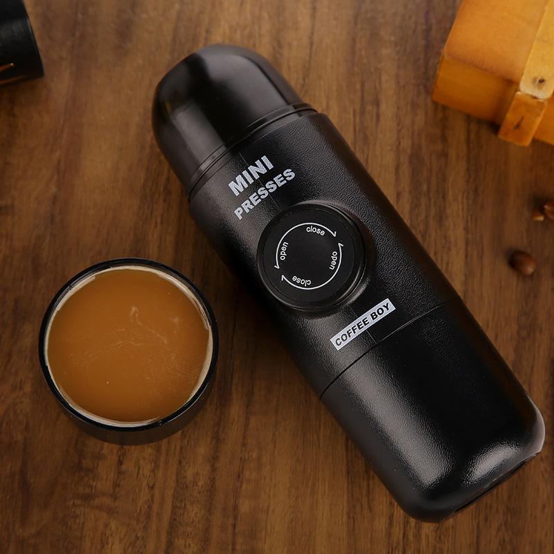 【YH】เครื่องชงกาแฟพกพา เเบบมือกด เครื่อเครื่องชงกาแฟมินิ เครื่องชงกาแฟ เครื่องทำกาแฟ ขวดชงกาเเฟ+เเก้ว น้ำหนักเบา