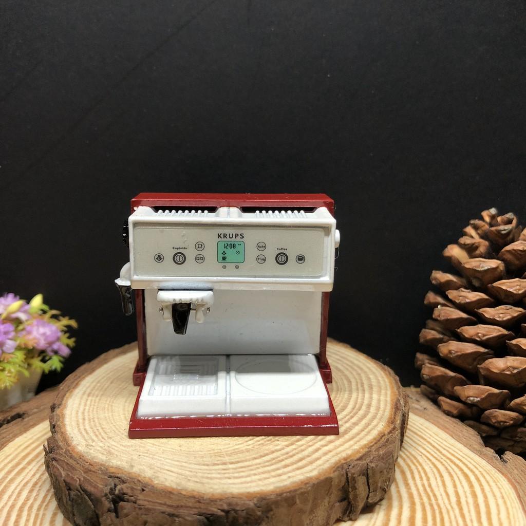 เครื่องชงกาแฟจิ๋ว เครื่องทำกาแฟจิ๋ว  #ของจิ๋ว #miniature