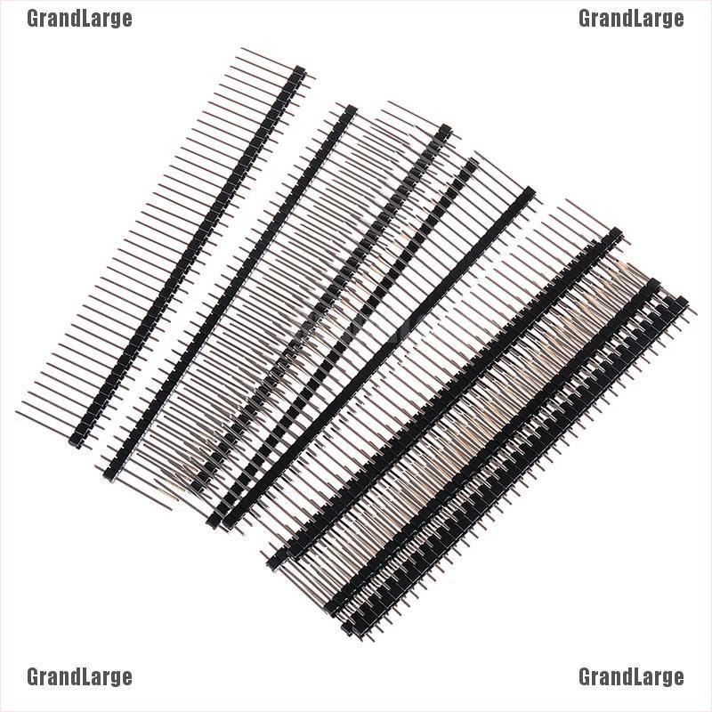 10PCS 1*40 40Pin 2.54mm 19mm Long single row Male Breakable Pin Header