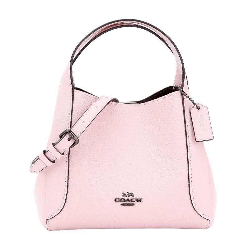 COACH/โค้ช【เอสเอฟ】กระเป๋าสะพายข้างหนังผู้หญิงCrossbody BAGสีชมพู78800Wangfujing