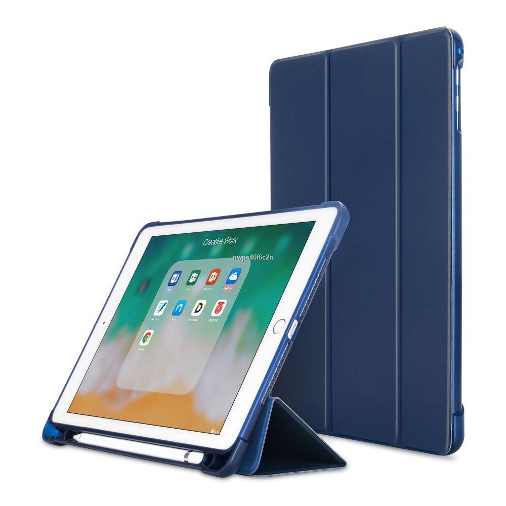 ipadวงเล็บ☫โปร11.11 [iPad10.2Gen7/8มีที่เก็บปากกา] เคสiPad 10.2 Gen7 / Pro10.5 Air3 10.5 มีที่เก็บ Apple Pencil ใส่ปากก
