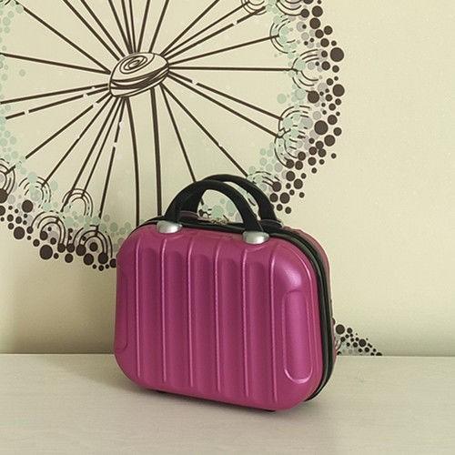 ▼┇ซองเครื่องสำอางแบบพกพาขนาดเล็กรุ่นเกาหลี 14 นิ้วกระเป๋าเดินทางขนาดเล็ก 16 ใบกระเป๋าเดินทางแบบพกพากันน้ำกระเป๋าเก็บข