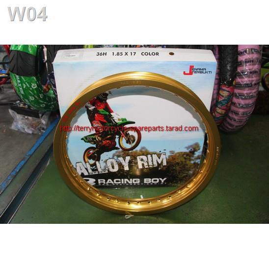 Quality assurance☏♞✻วงล้ออลูมิเนียม US Racing Boy 1.85-17 2.15-17 2.50-17 185-18 2.15-18 1.60-16 140-14 สีดำ สีทอง สีเง