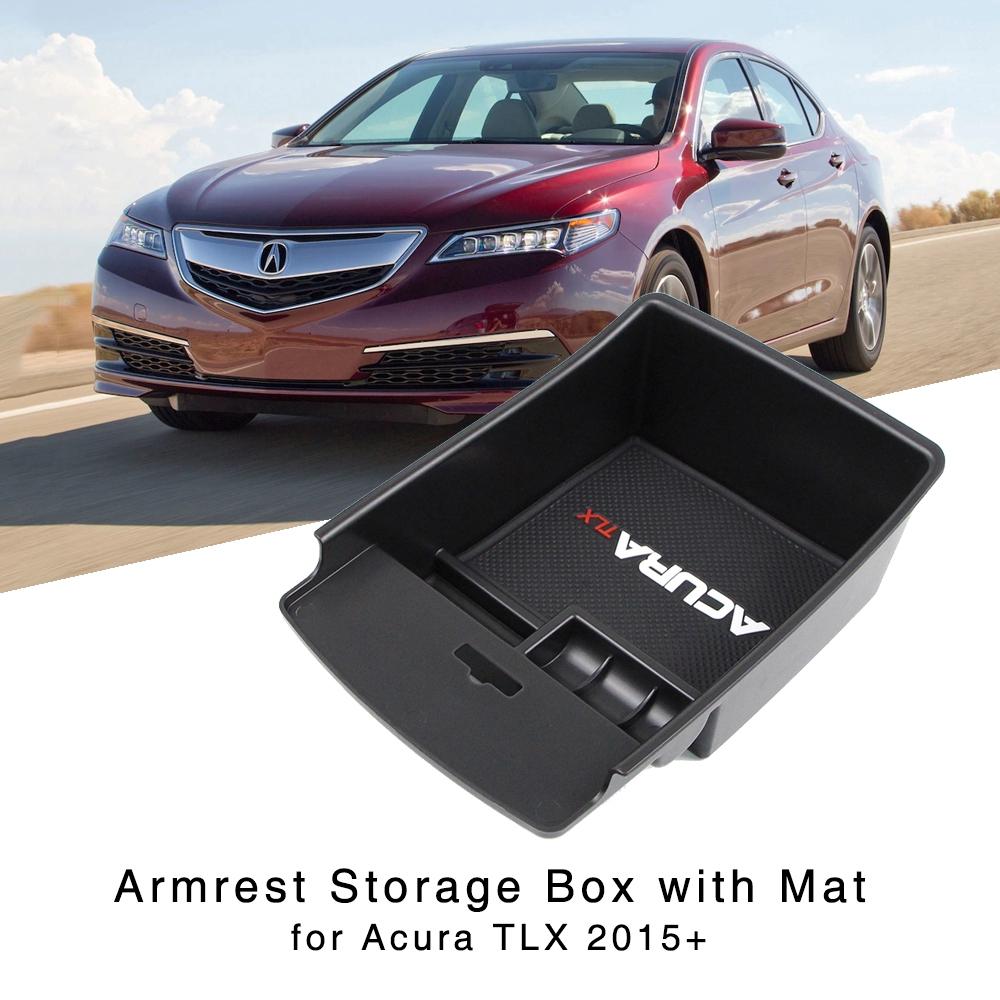 Armrest Storage Box Holder For Acura TLX Sedan 2015 2016