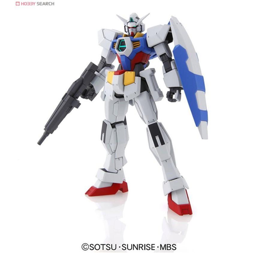 Bandai Gundam Model Bandai 1/144 HG AGE 01 Gundam Normal AGE1 AGE10 Basic Tye Standard Children's Robot, Animation Toys