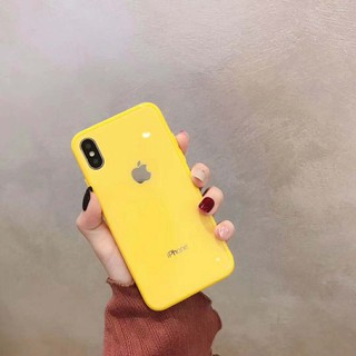 Image # 1 of Review เคสเอฟเฟคเเก้ว สีสันสดใส สำหรับ  iPhone 11 pro max i11 6 6 S 7 8 Plus X XR XS Max phone Case