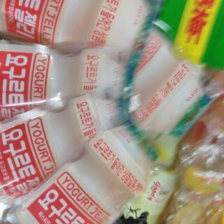 (เก็บปลายทาง)ยาคู้ลท์เกาหลีหนึบๆอร๊อยอร่อย. เยลลี่ยาคู้ลท์