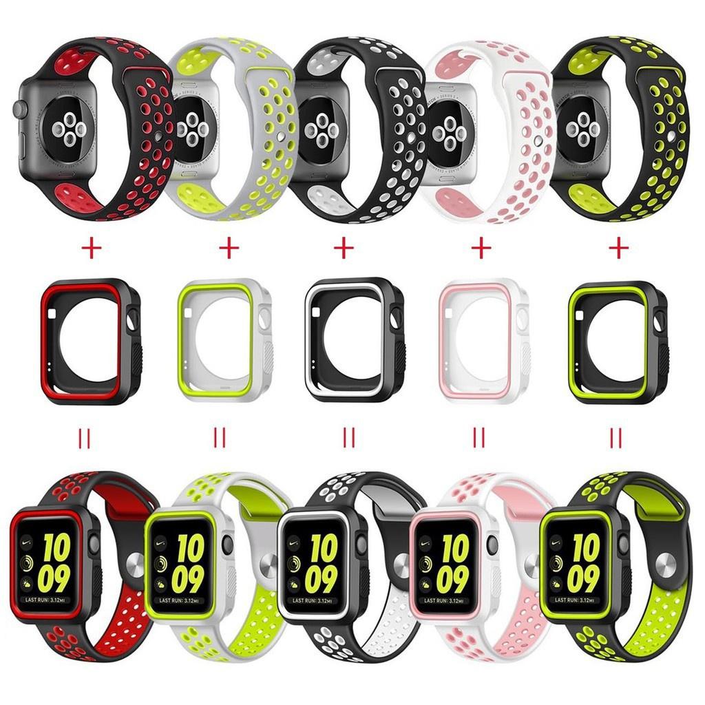 สาย applewatch สายนาฬิกา applewatch เคสสายนาฬิกา Apple Watch ขนาด 38 (40) มม. 42 (44) มม. สาย Apple Watch สำหรับ Iwatch
