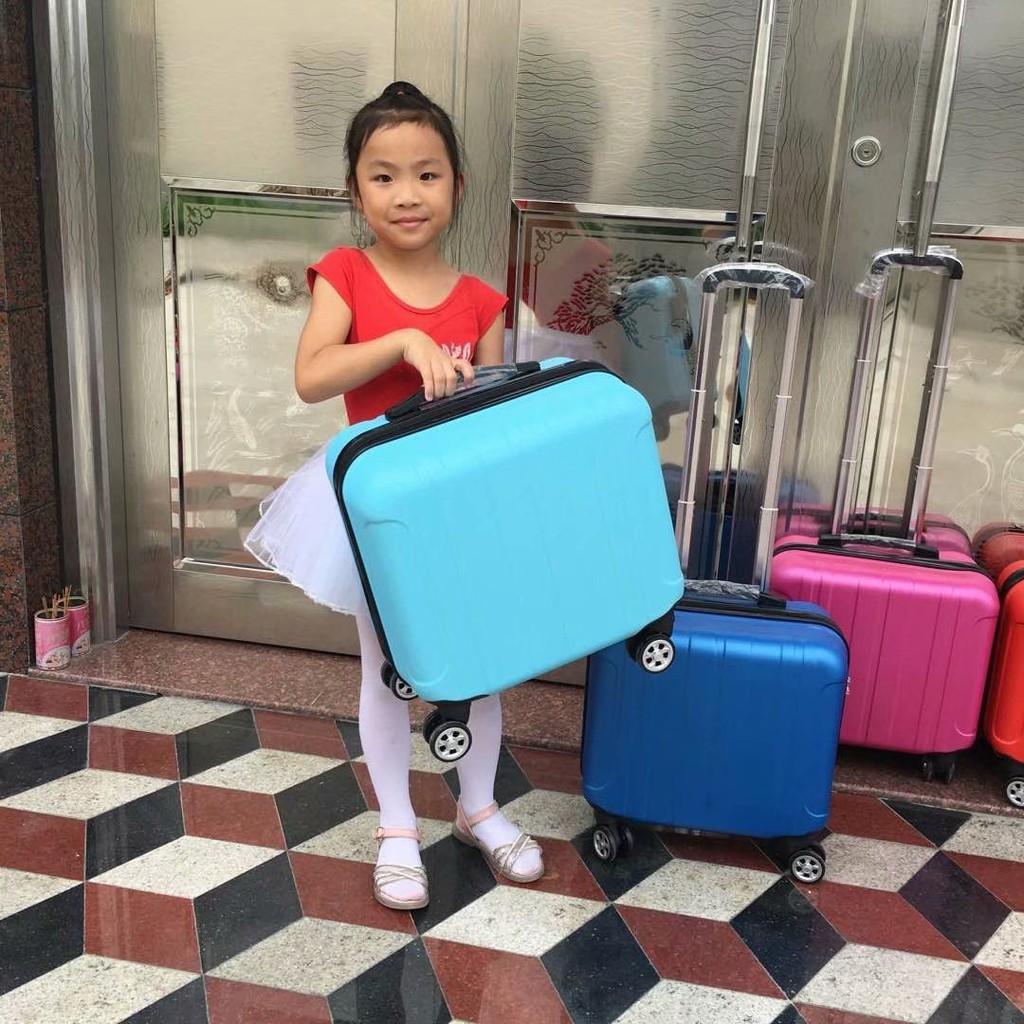 ✣✲✚กระเป๋าเดินทางล้อลากสำหรับเด็กแฟชั่นกระเป๋าเดินทาง 14 นิ้วกระเป๋าเดินทางหญิง 16 นิ้วกระเป๋าเดินทางขนาดเล็ก 18 นิ้วล้