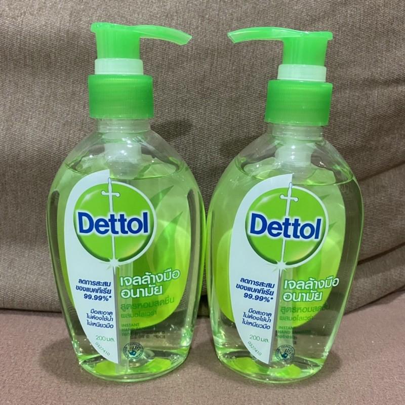 Dettol เจลล้างมือแอลกอฮอล์ ขนาด 200 ml.