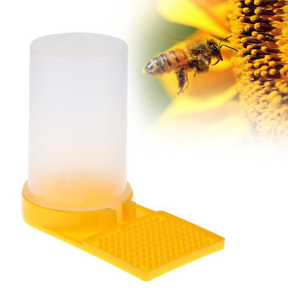 Bee Drinking Durable Detachable Beekeeping Tools Eco-friendly Round Plastic  Entrance Beehive Water Feeder