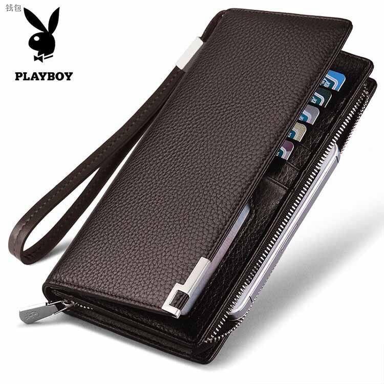 กระเป๋าสตางต์ devy กระเป๋าสตางค์ผู้ชาย กระเป๋าสตางค์ lyn แบรนด์เนม ที่ใส่โทรศัพท์ออกกําลังกาย กระเป๋าสตางค์ใบยาว 2ซิป พว