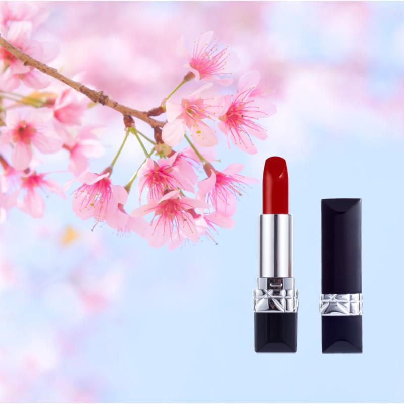 ของแท้แบรนด์ใหญ่ Keno Dior 999 ลิปสติก Counter matte lipstick for girlfriend birthday gift gift set