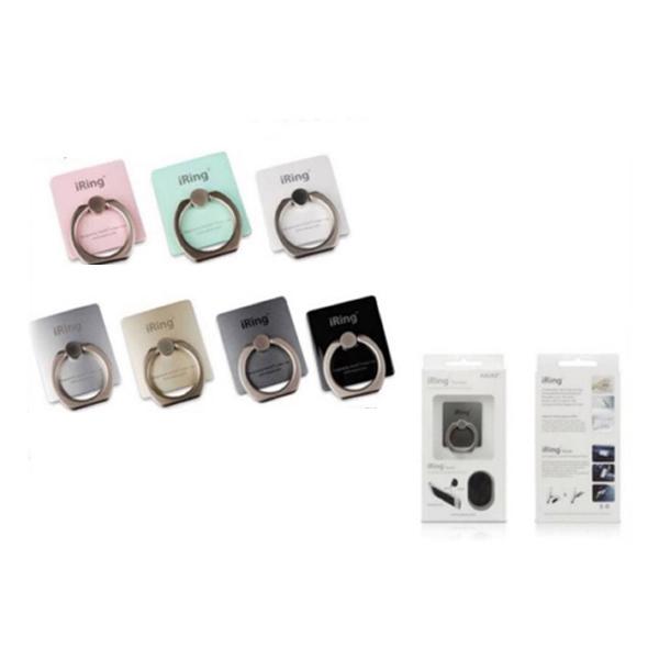 (1ชิ้น) แหวน Ring 🌟ติดหลังโทรศัพท์ 📱ติดได้กับโทรศัพท์ทุกรุ่น สีสวย สดใส แข็งแรง