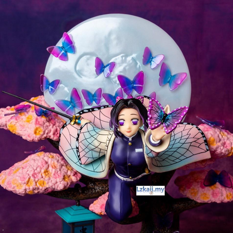 Kimetsu no Yaiba - Kochou Shinobu 31 cm Demon Slayer  High Quality Anime Action Figure / GK Collection