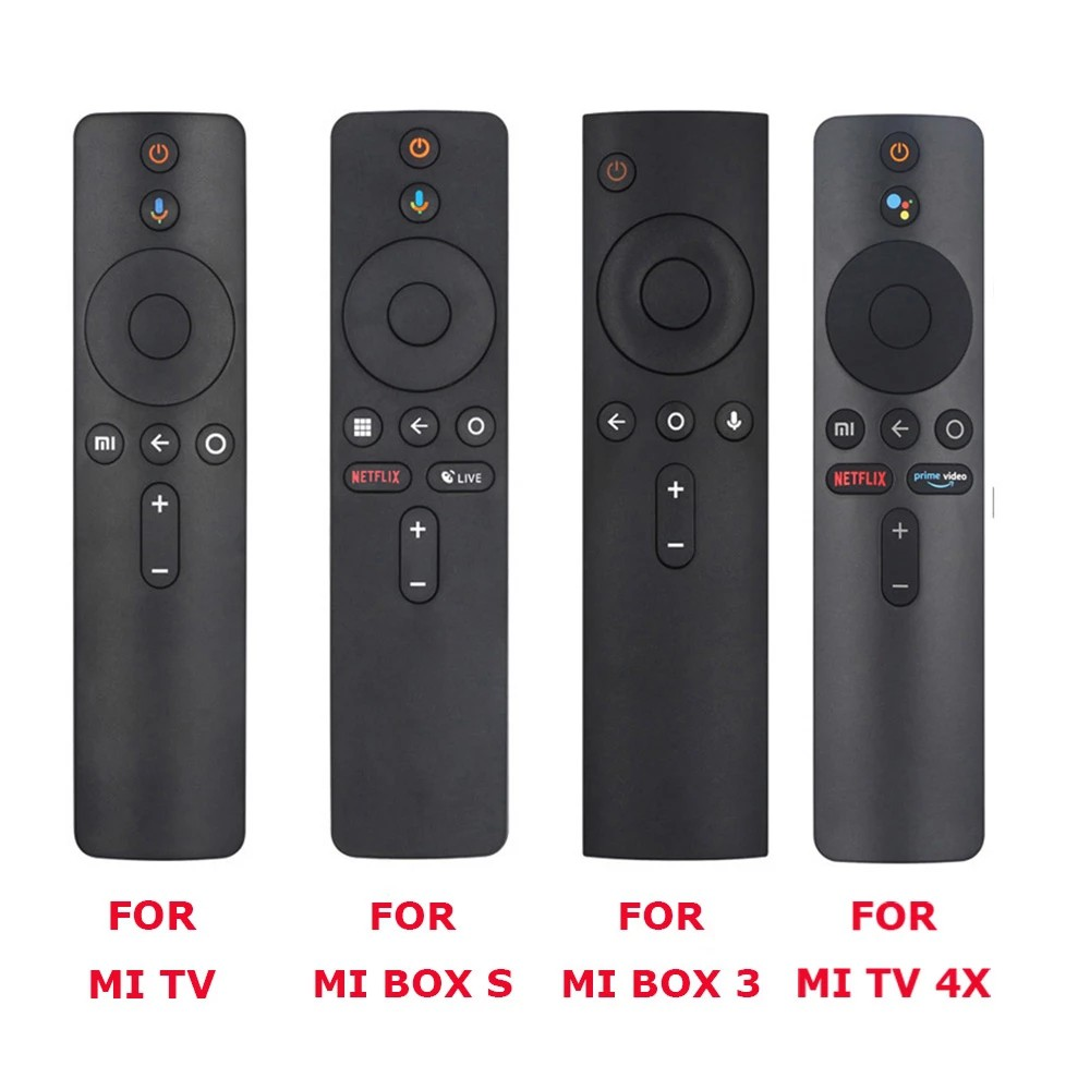Xiaomi Mi TV, Box S, BOX 3, MI TV 4X Voice Bluetooth Remote Control with the Google Assistant Control