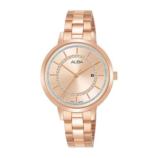 Alba นาฬิกาข้อมือ Ah7t88 Ah7t88x1 สําหรับผู้หญิง 1 ปี