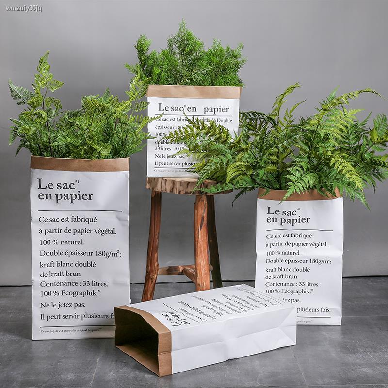 การจำลองพันธุ์ไม้อวบน้ำ▩♂❣นอร์ดิกอินส์ กระถางต้นไม้ตกแต่งเรียบง่ายตกแต่งสำนักงานจำลองพลาสติกดอกไม้ปลอมสวนพืชยิงprops