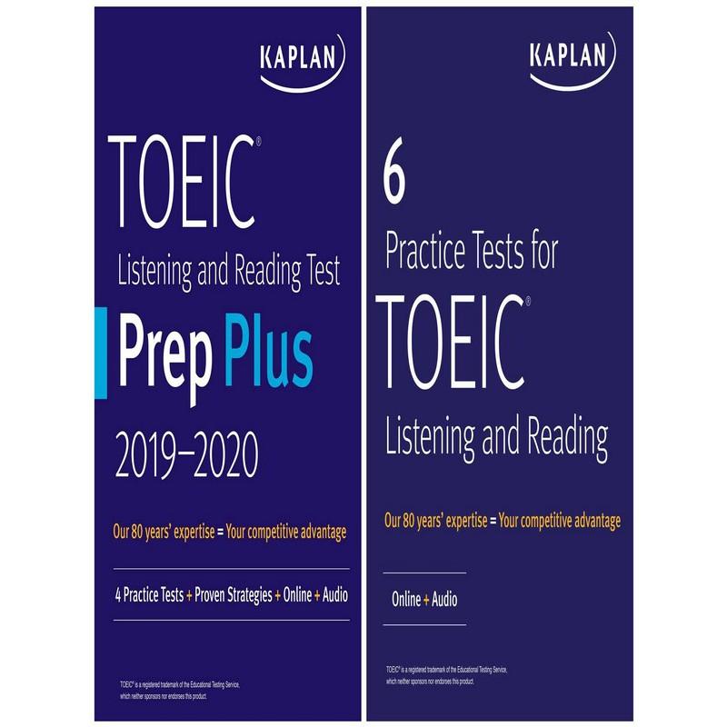 Asia Books หนังสือภาษาอังกฤษ KAPLAN TOEIC PREP SET: 2 BOOKS + ONLINE