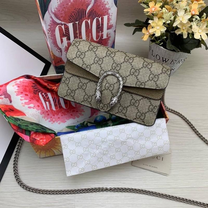 Gucci Dionysus หนังเเท้ 100%  Grad Original ดีสุด Size 16.5CM  free box set
