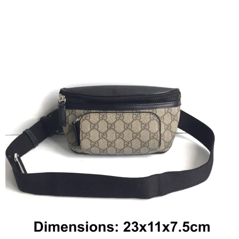 Gucci belt bag eden กระเป๋า กุชชี่ คาดอก คาดเอว ของแท้ ส่งฟรี EMS ทั้งร้าน