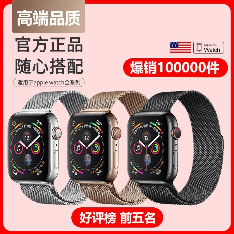 Milanese สายนาฬิกาข้อมือสแตนเลสสําหรับ Applewatch Iwatch 5/6/se Generation