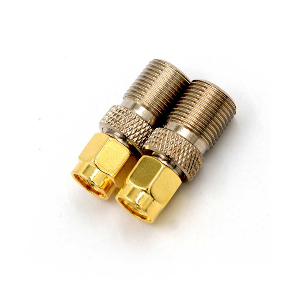 SMA Male Plug to F-Type Female Jack RF Antenna Coax Adapter Converter Connector