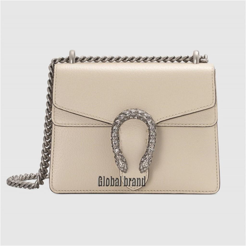 Gucci Dionysus ชุดหนังมินิกระเป๋าถือกระเป๋าสะพายสตรีผู้หญิงกระเป๋า GG แบบ: 421970