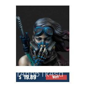 Resin Figure Kit 1/10 Female Hunter Bust Unainted Garage Resin Kit#¥%¥# GpwV