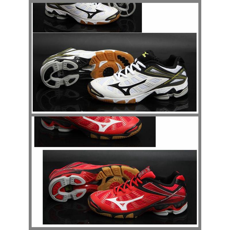 ของแท้ Mizuno วอลเลย์บอลระดับ high-end รองเท้ากีฬารองเท้าผู้ชายรองเท้ามืออาชีพในร่มการดูดซึม shock ลื่นน้ำหนักเบาระบายอา