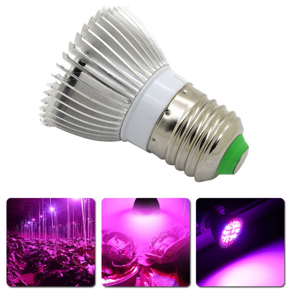 Lamp 8w Planting Plant Full E27 Led Light Greenhouse Spectrum Growth Fill 5Ac3jq4RL