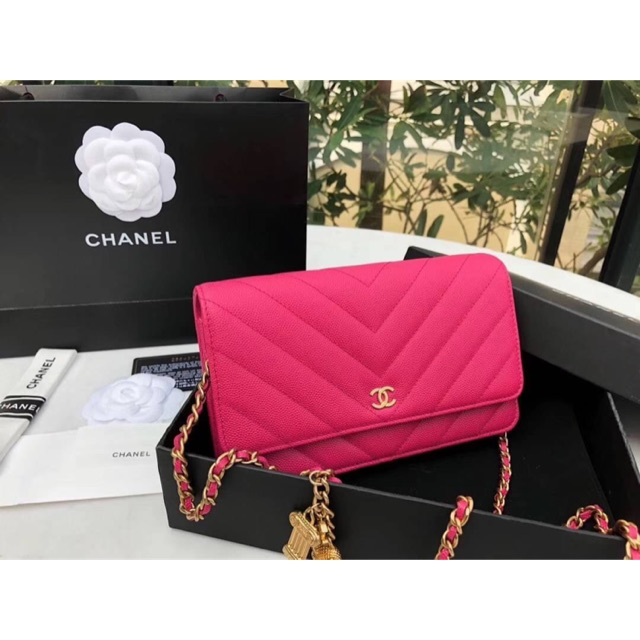 Chanel wocCC mini size 19.5 super quality full handmade เลยนะคะ ใบจริงสีสวยมากค่ะ ไม่โป๊ะแน่นอนค่ะ