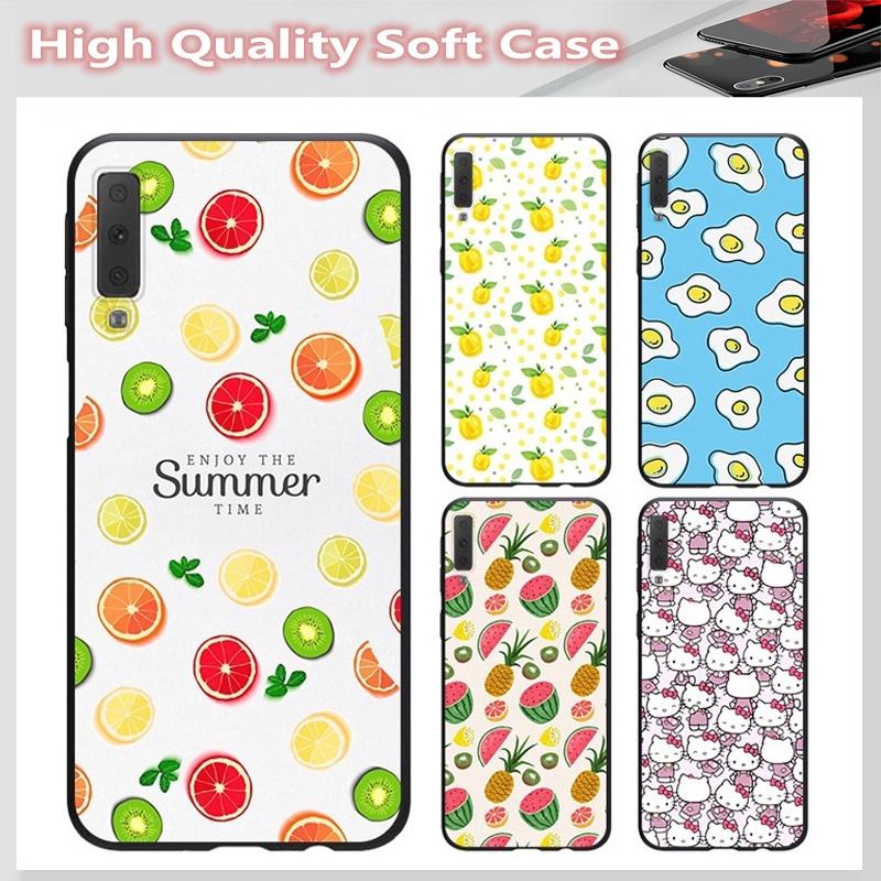 casing for SAMSUNG A2 CORE J7 Pro J7 PLUS A6 A6+ A7 A8 A8+ A8 Star A9 2018 Cover Small fresh Soft Case