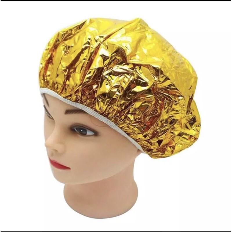 หมวกอลูมิเนียมฟอยล์ อบไอน้ำ ทำสี