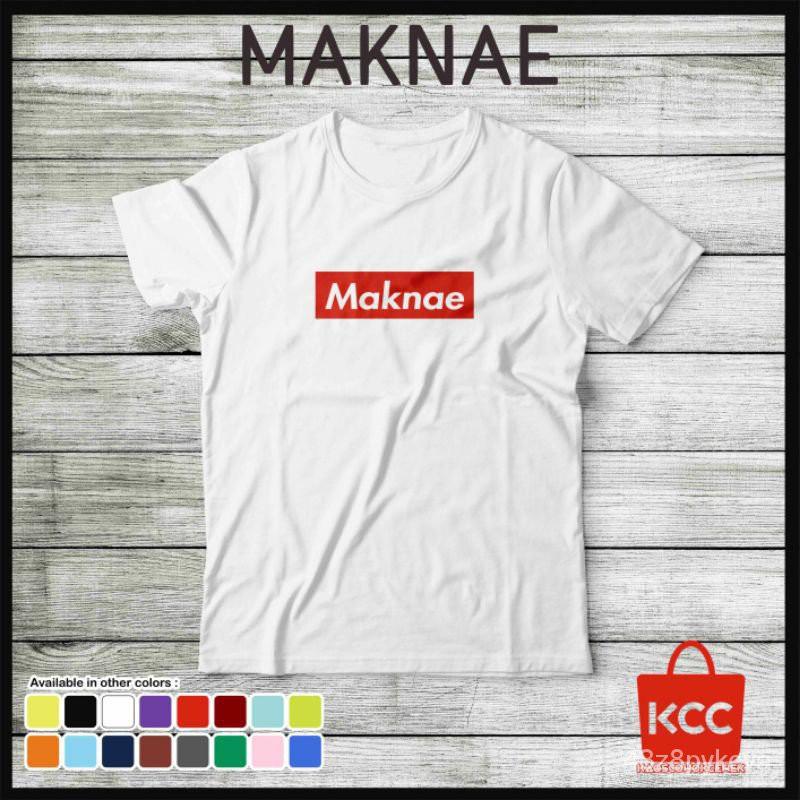 แท้100%Maknae Supreme Premium เสื้อเชิ้ตสําหรับผู้ชายผู้หญิง