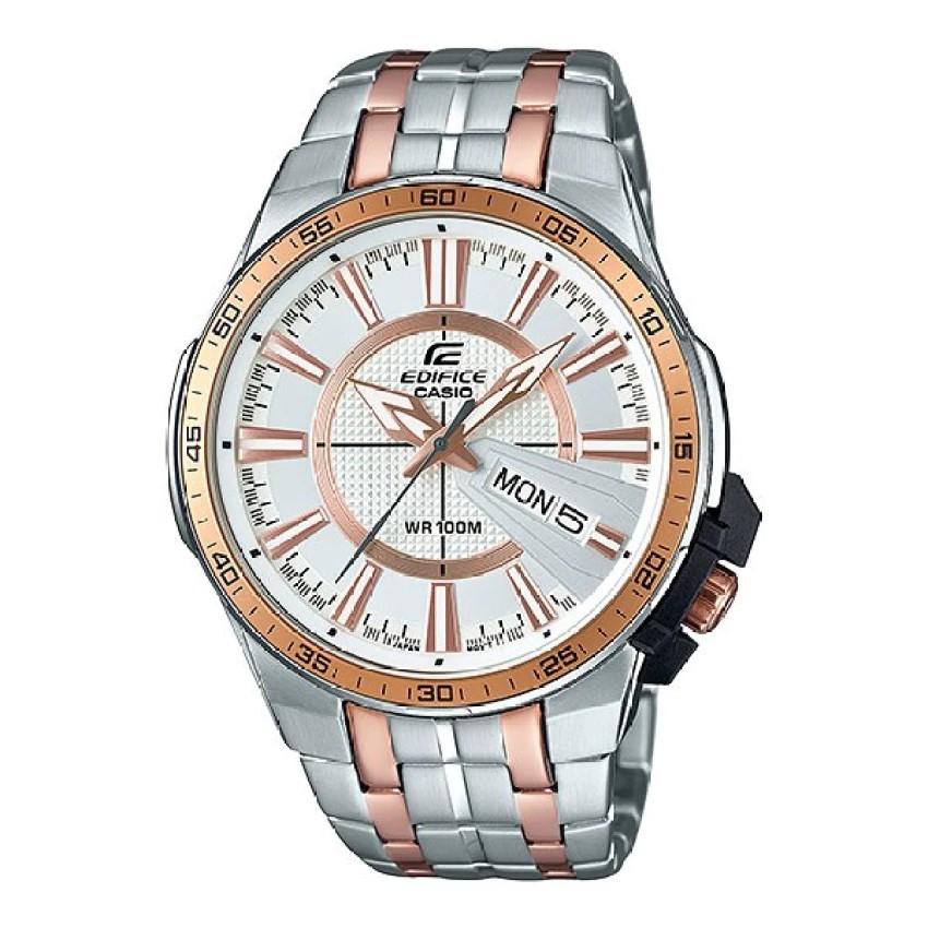Casio Edifice นาฬิกาข้อมือผู้ชาย สายสแตนเลส รุ่น EFR-106SG-7A5
