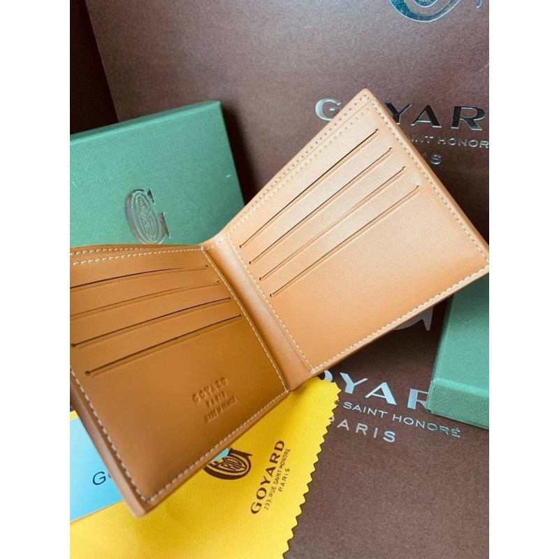 ✨Goyard wallet top  ออริ 📌size 11 cm.  📌สินค้าจริงตามรูป งานสวยงาม หนังแท้💯